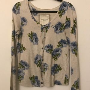 Gilly Hicks Floral Cardigan